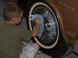 Antique Auto Restoration Shop