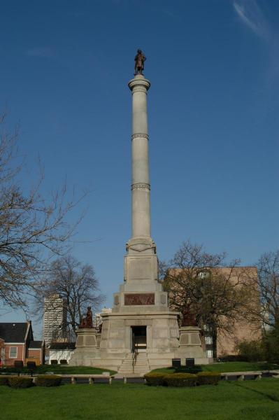 Douglas Memorial Park Stephen Douglas Monument Exterior