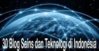 Blog sains dan teknologi