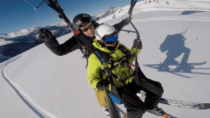 Bon Cadeau Bapteme Parapente Ski a Allevard