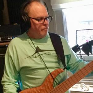 Jack recording bass tracks