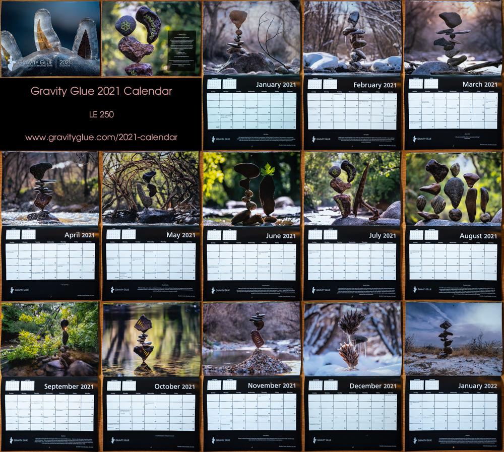 Cu Boulder Fall 2022 Calendar.2021 Calendar Le 250 Sold Out Gravity Glue