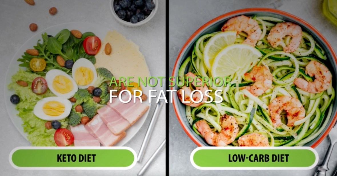 keto-low-carb-diet-myth-not-superior-for-weight-loss