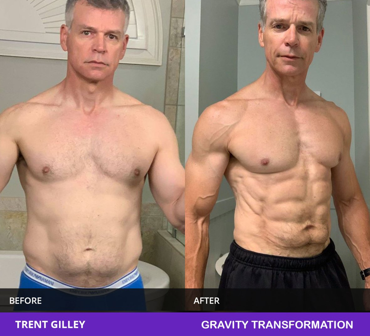 muscle building transformation