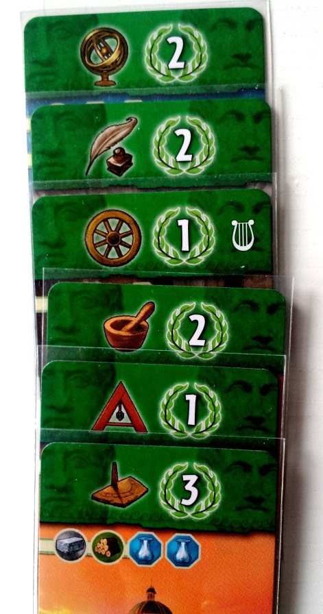 Tak wygrywa się przez dominację naukową - 6 różnych symboli na zielonych kartach