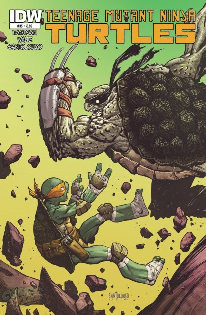 Teenage Mutant Ninja Turtle #35 Cover Reveal
