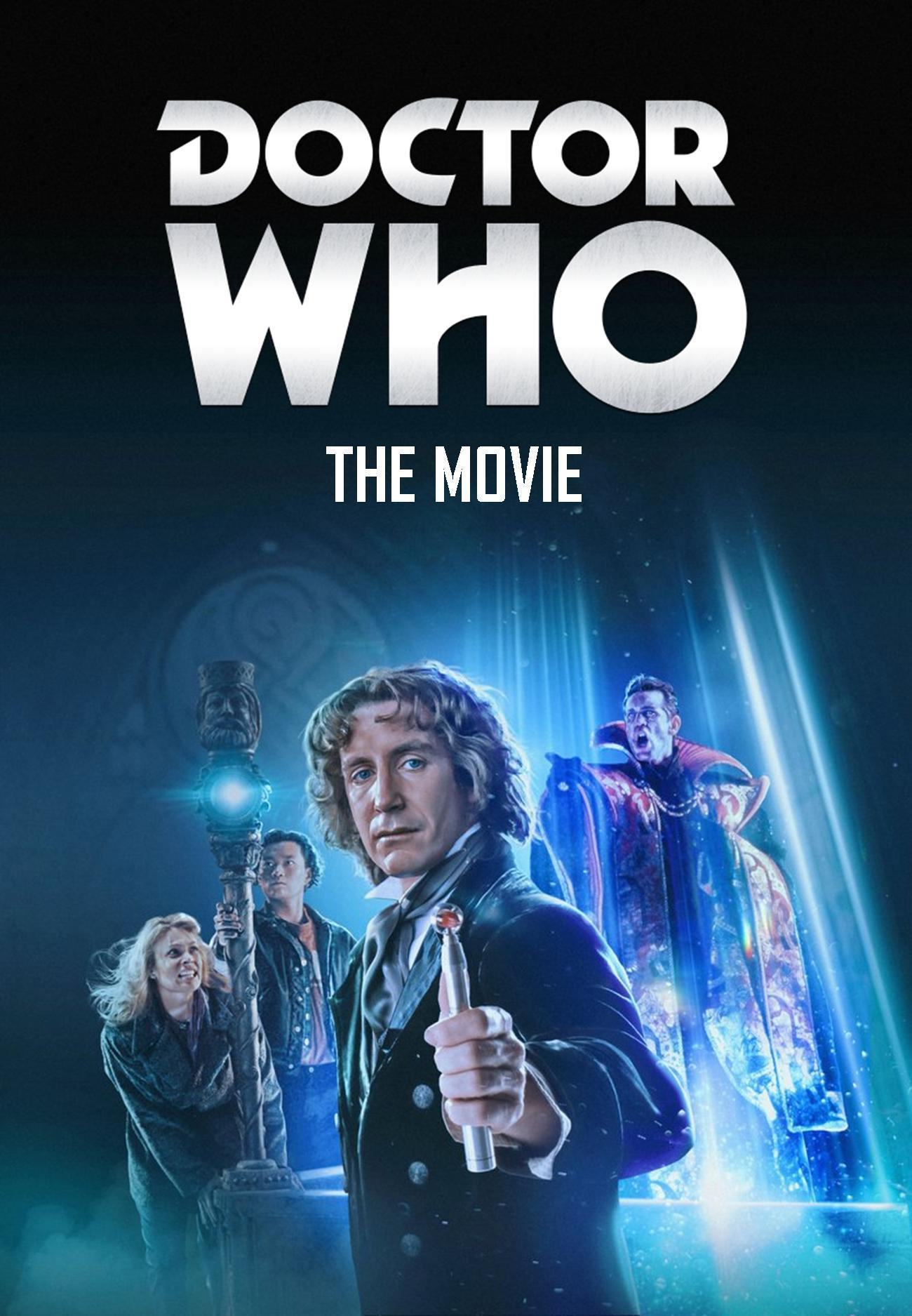 """Poster for the movie """"Doctor Who The Movie"""""""