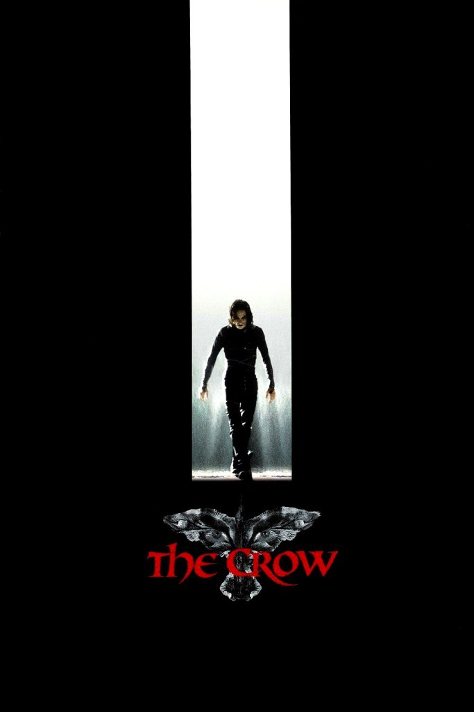 """Poster for the movie """"The Crow"""""""