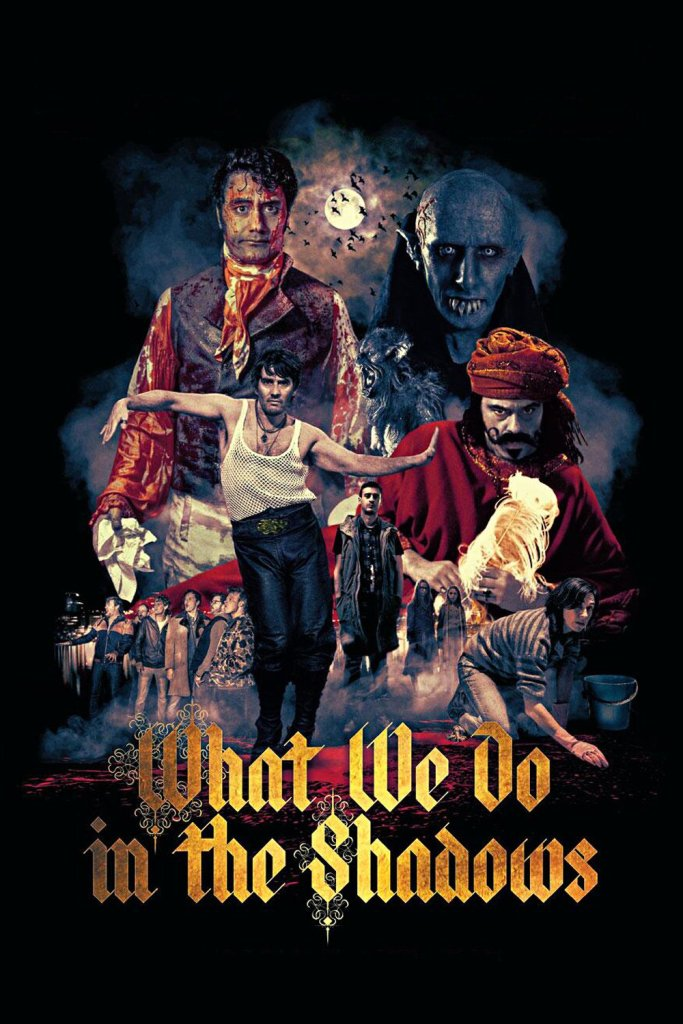 "Poster for the movie ""What We Do in the Shadows"""