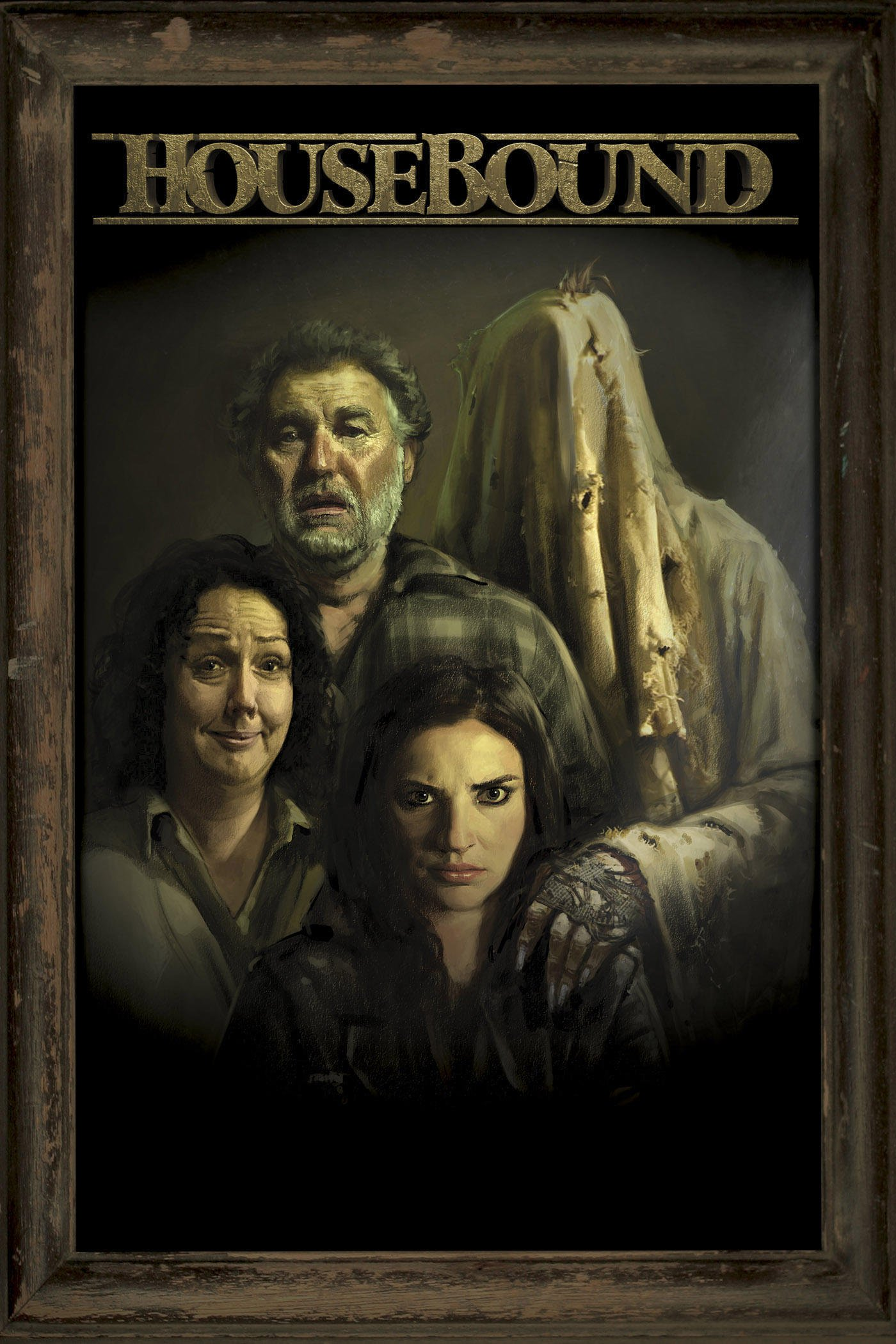 """Poster for the movie """"Housebound"""""""