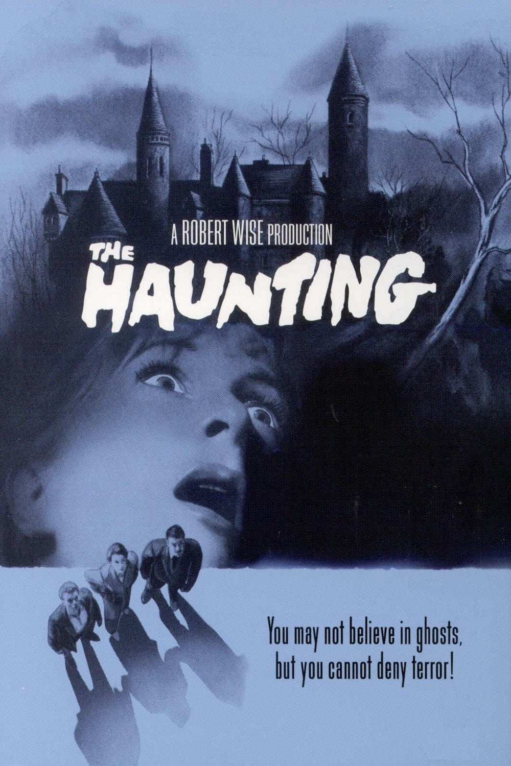 "Poster for the movie ""The Haunting"""
