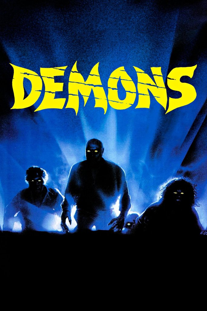 """Poster for the movie """"Demons"""""""