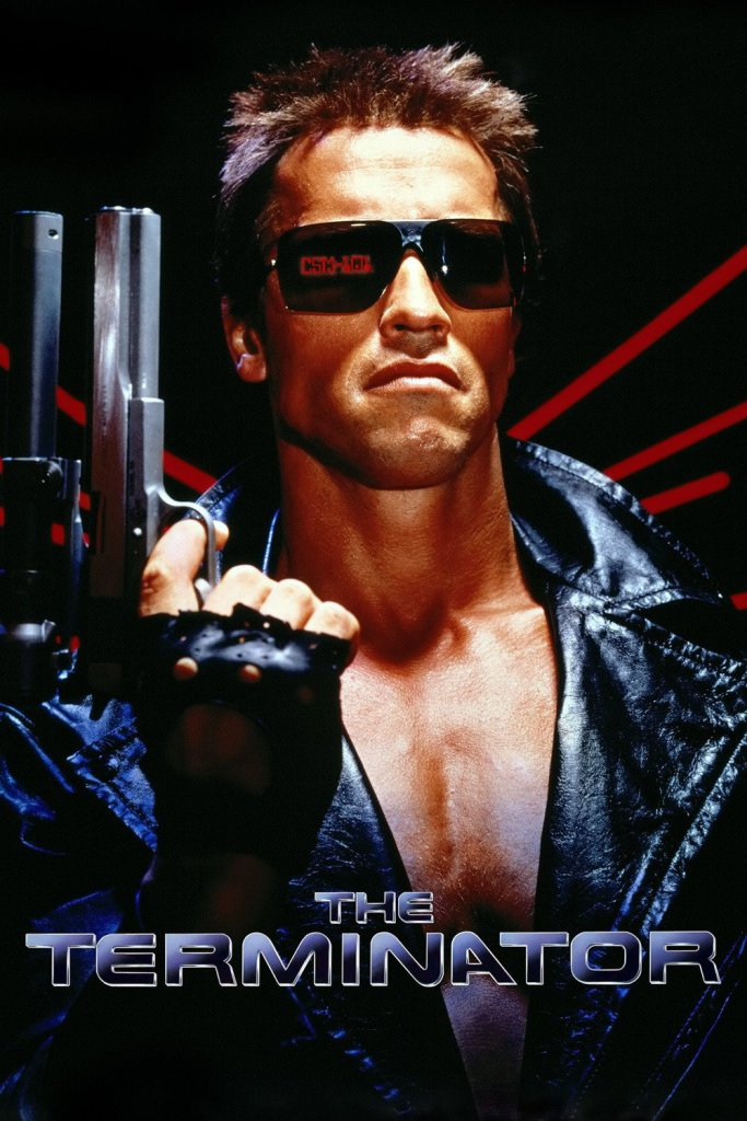 "Poster for the movie ""The Terminator"""