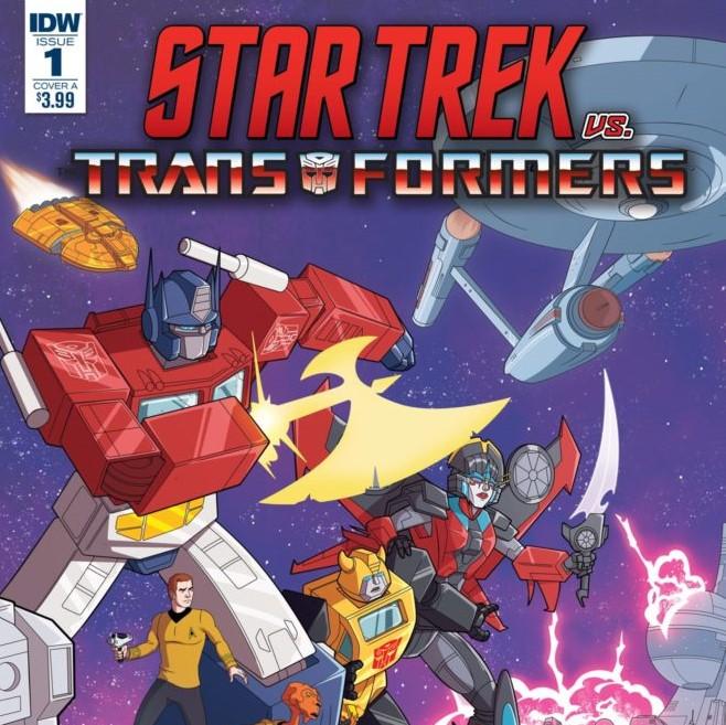 Star Trek Vs. Transformers Crossover Comic Announced - Grawlix Podcast