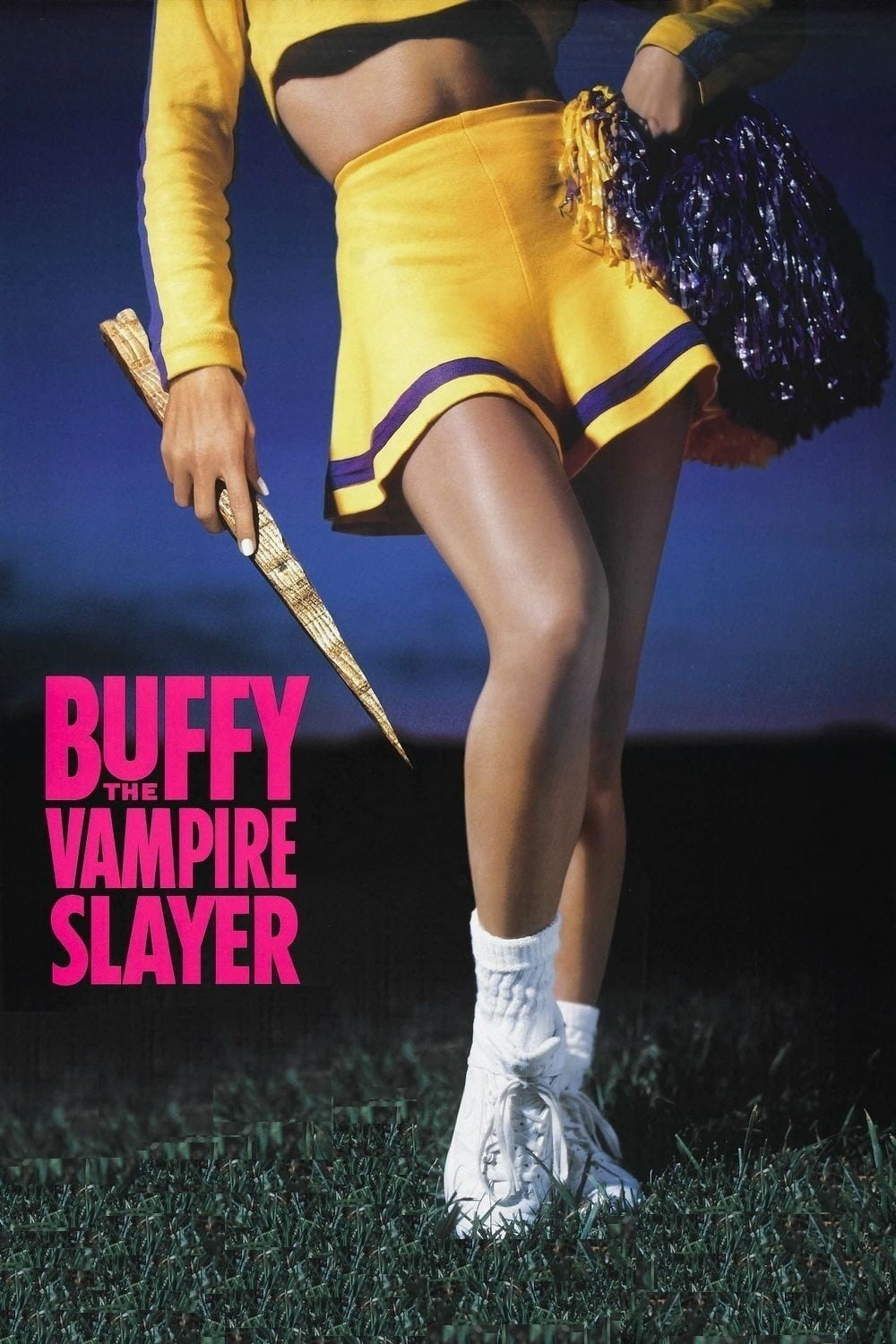 "Poster for the movie ""Buffy the Vampire Slayer"""