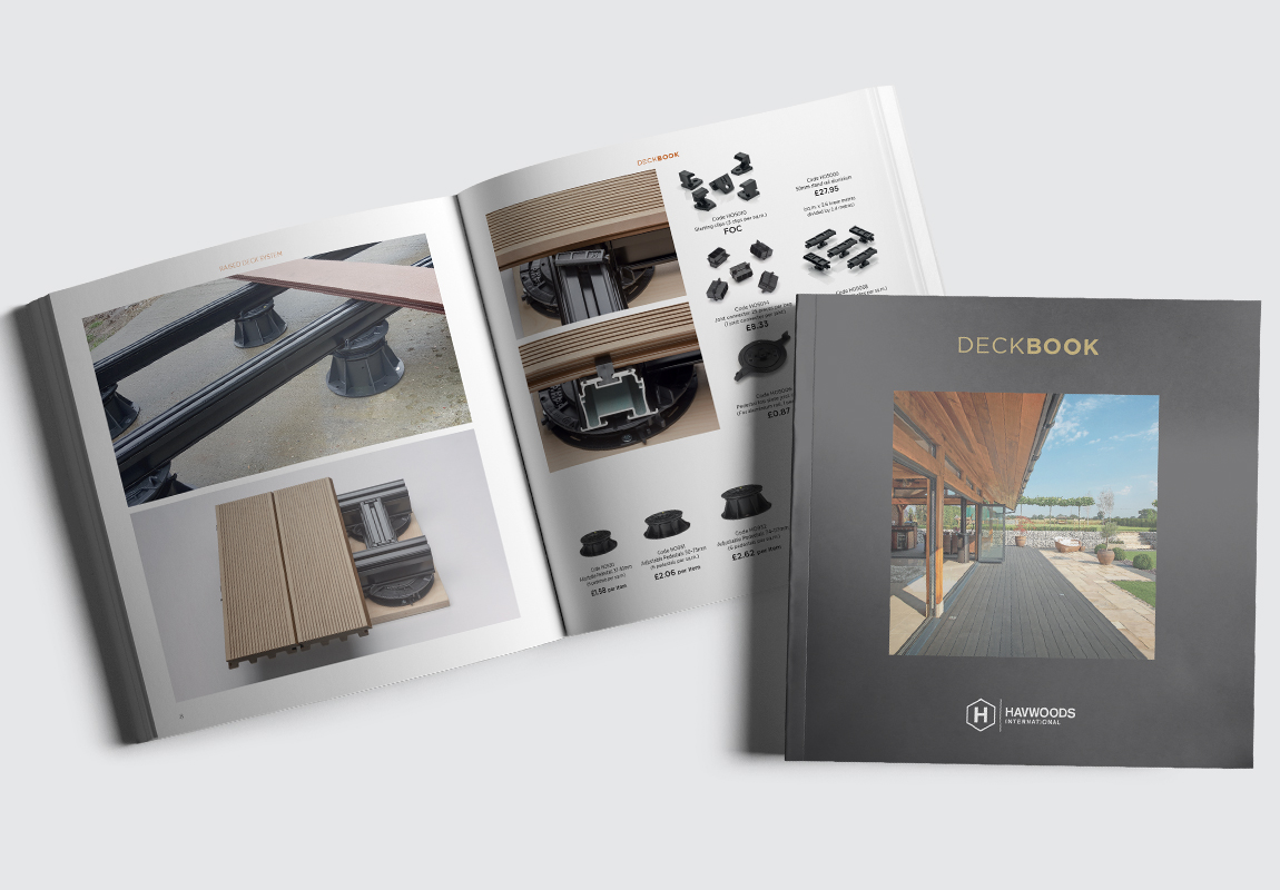 Havwoods Deckbook Cover and Product Spread 1
