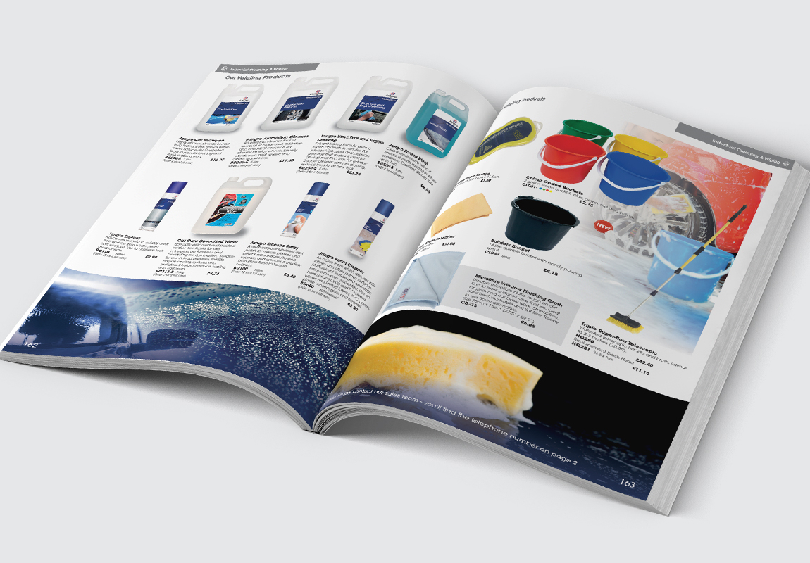 Jangro Catalogue Industrial Cleaning & Wiping Spread