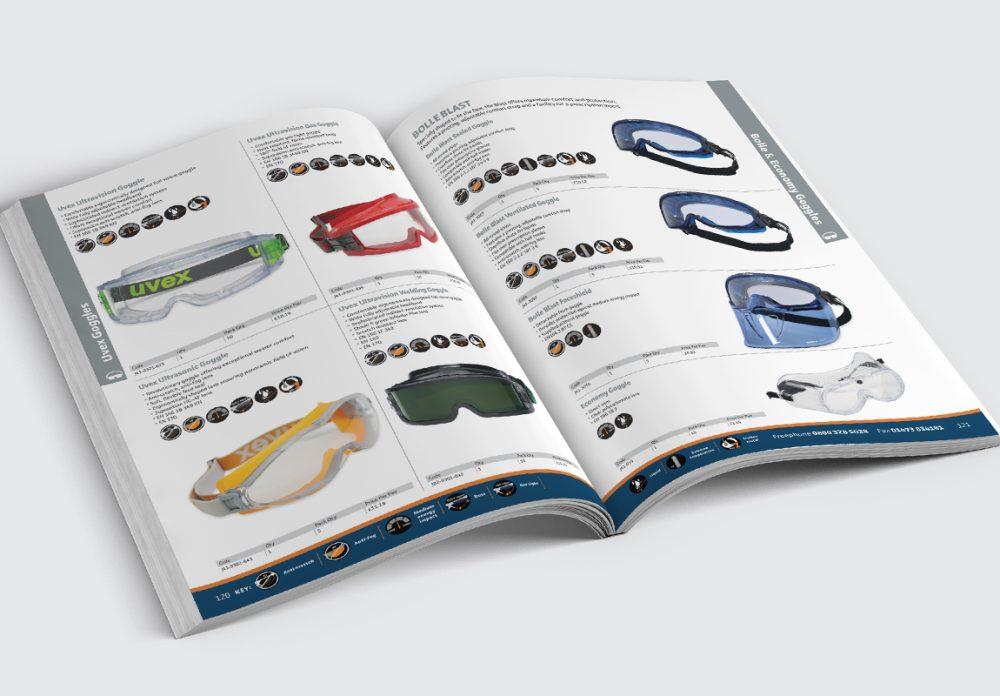 Anchor Catalogue Goggles Spread
