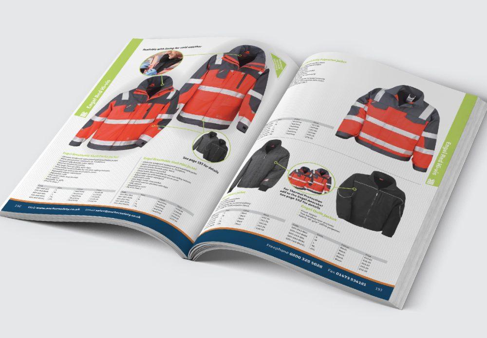 Anchor Catalogue Jackets Spread