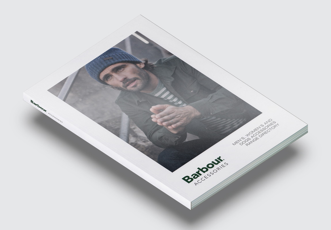Barbour Accessories Catalogue Cover