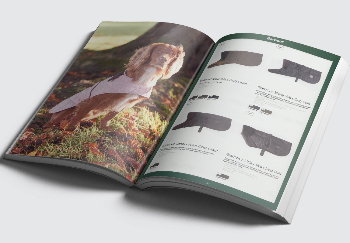 Barbour Accessories Catalogue Pet Products Spread