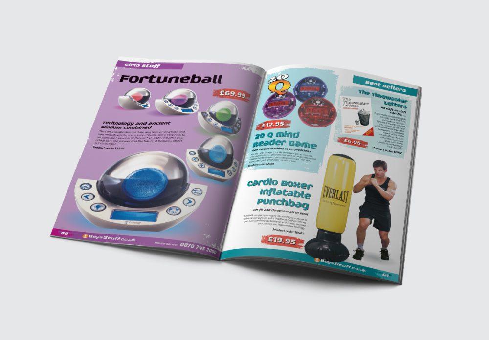 BoysStuff Brochure Girls Stuff/Best Sellers Spread