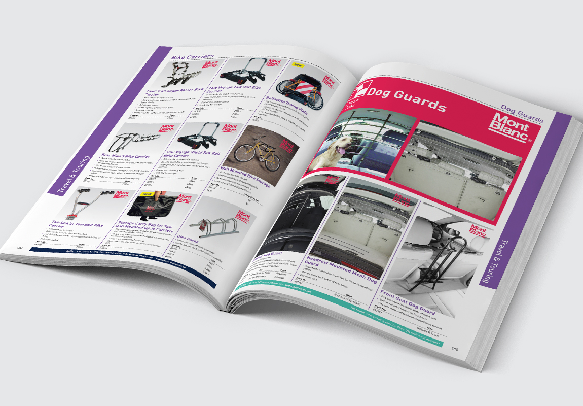 FPS Leisure Catalogue Travel & Touring Spread