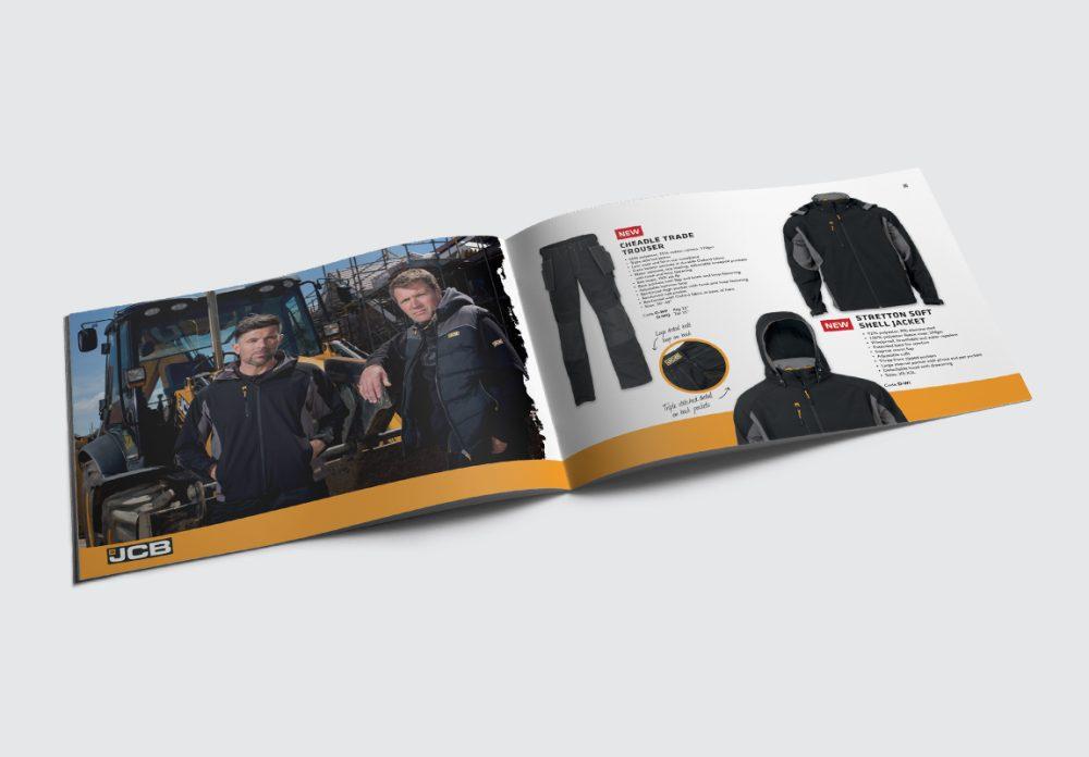 JCB Workwear Brochure Workwear Spread