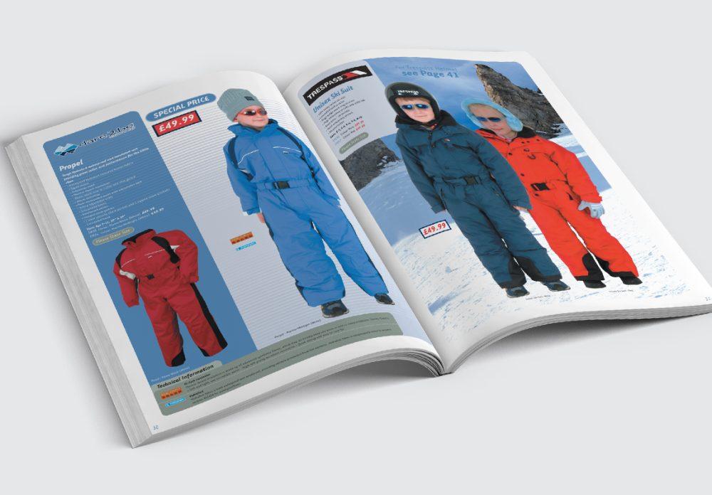 Oggie Snowsports Catalogue Children's Spread