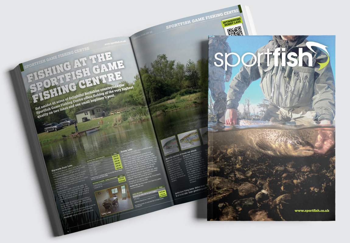 Sportfish Catalogue Cover and Intro Spread
