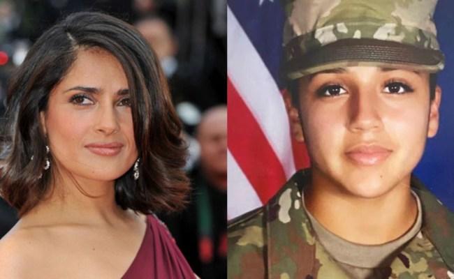 Actress Salma Hayek Raising Awareness About Missing Fort