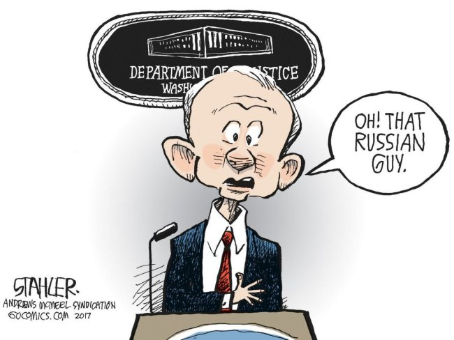 Jeff Sessions cannot recall.