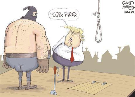 Trump fires hangman.