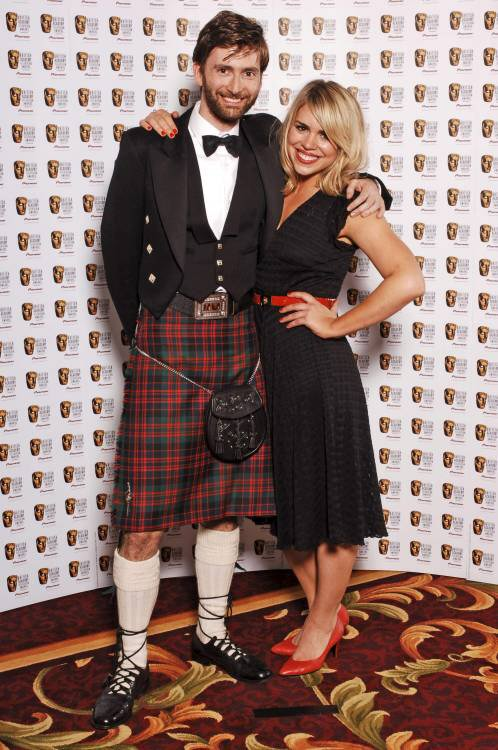David Tennant and Billie Piper.