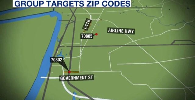 Group target zip codes