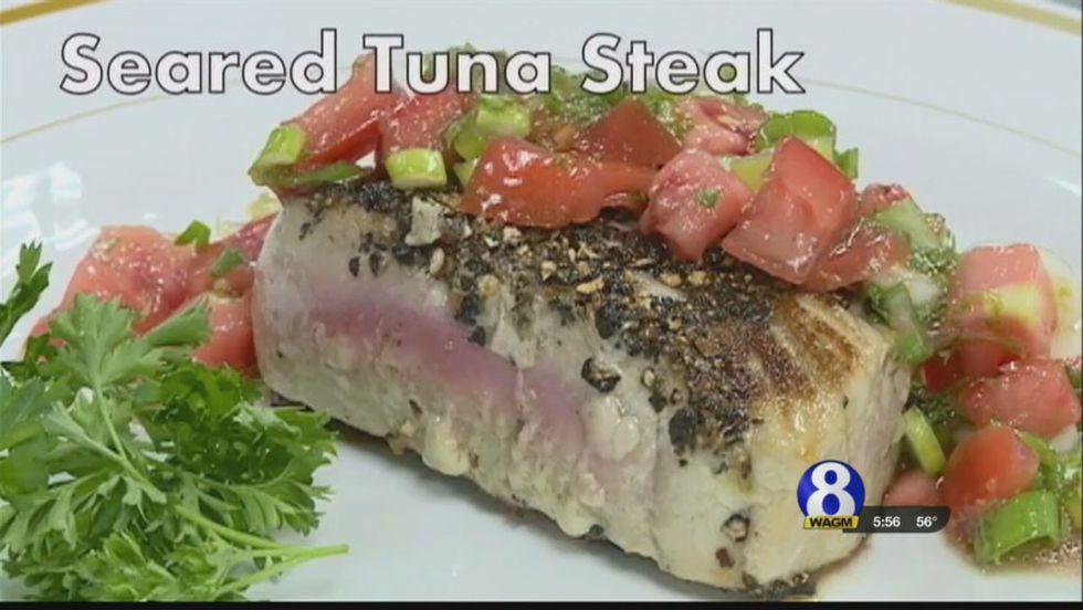 Taste of the County: Seared Tuna Steak