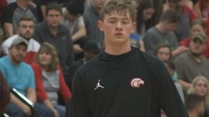 East Rockingham High School basketball star Tyler Nickel has picked an offer from one of the most recognizable programs in college basketball.