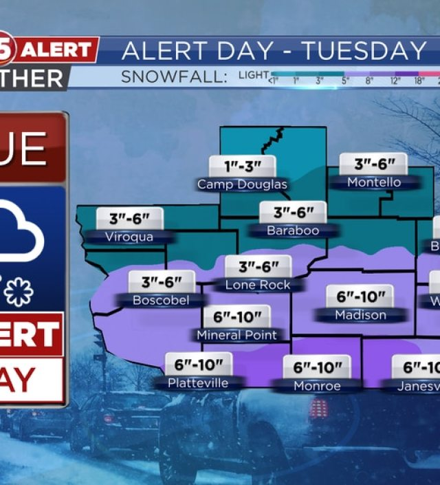 Snowfall Potential - TUE-WED