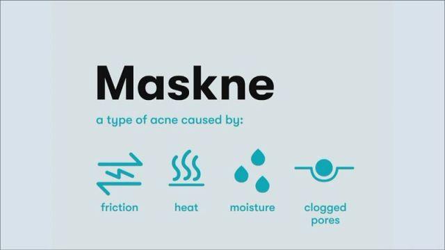 what causes maskne