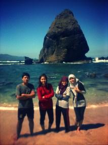 Reza, Charin, me, Emyl