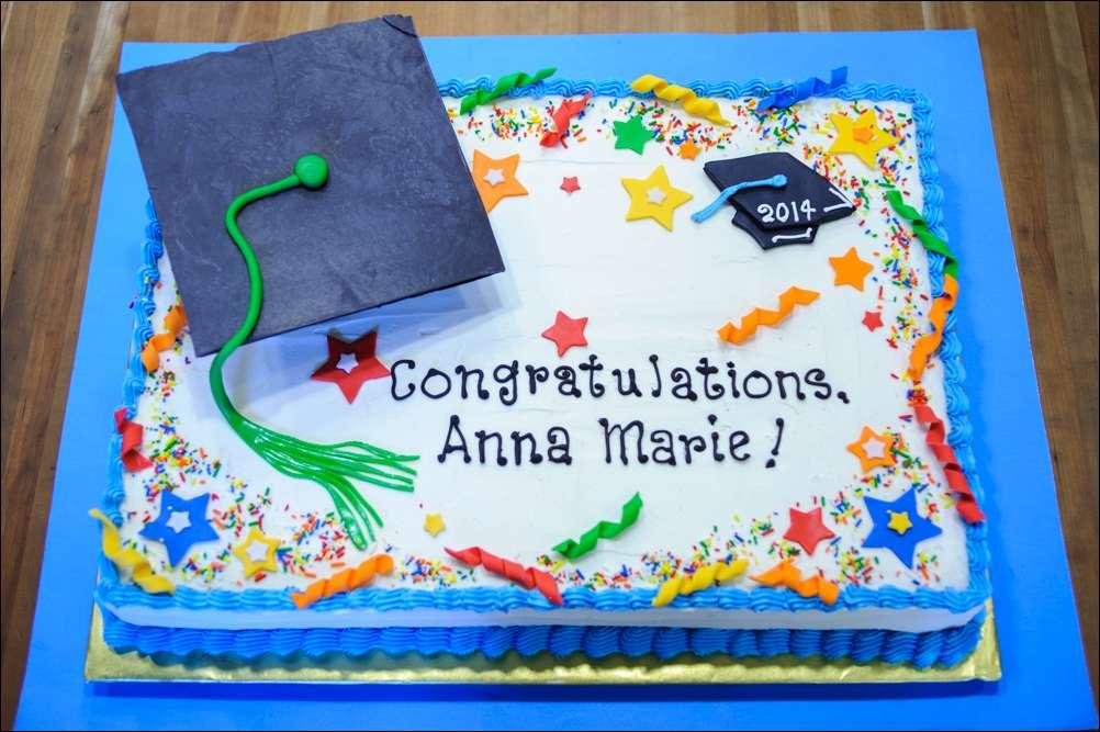 Graduation Cake With Mortar Board Gray Barn Baking
