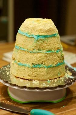 elsa doll cake_1