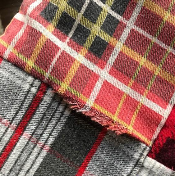 Flannel fringe 1