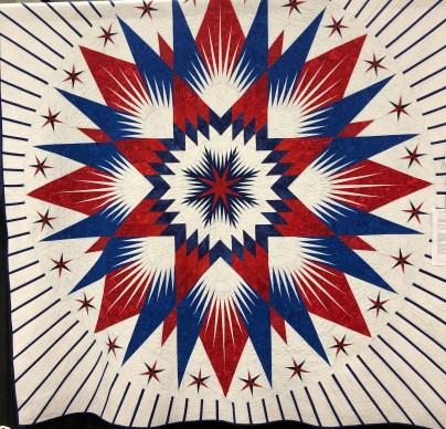 Patriotic paper piece