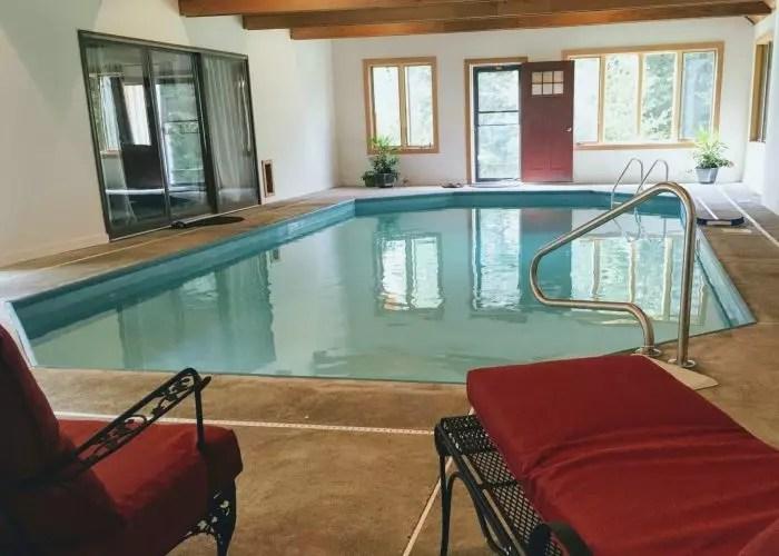 Aerie pool room