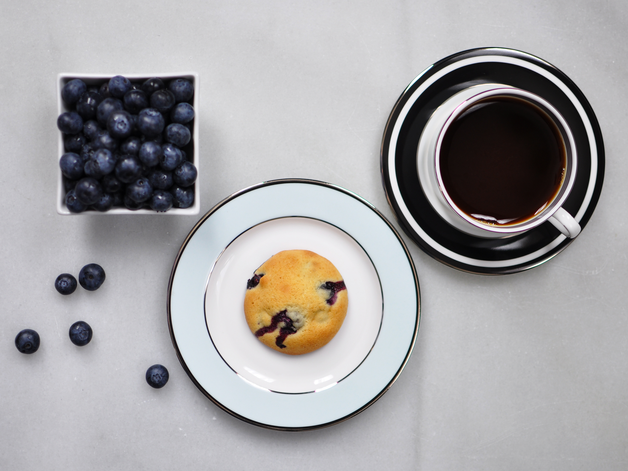 Blueberry & Lemon Muffin Tops