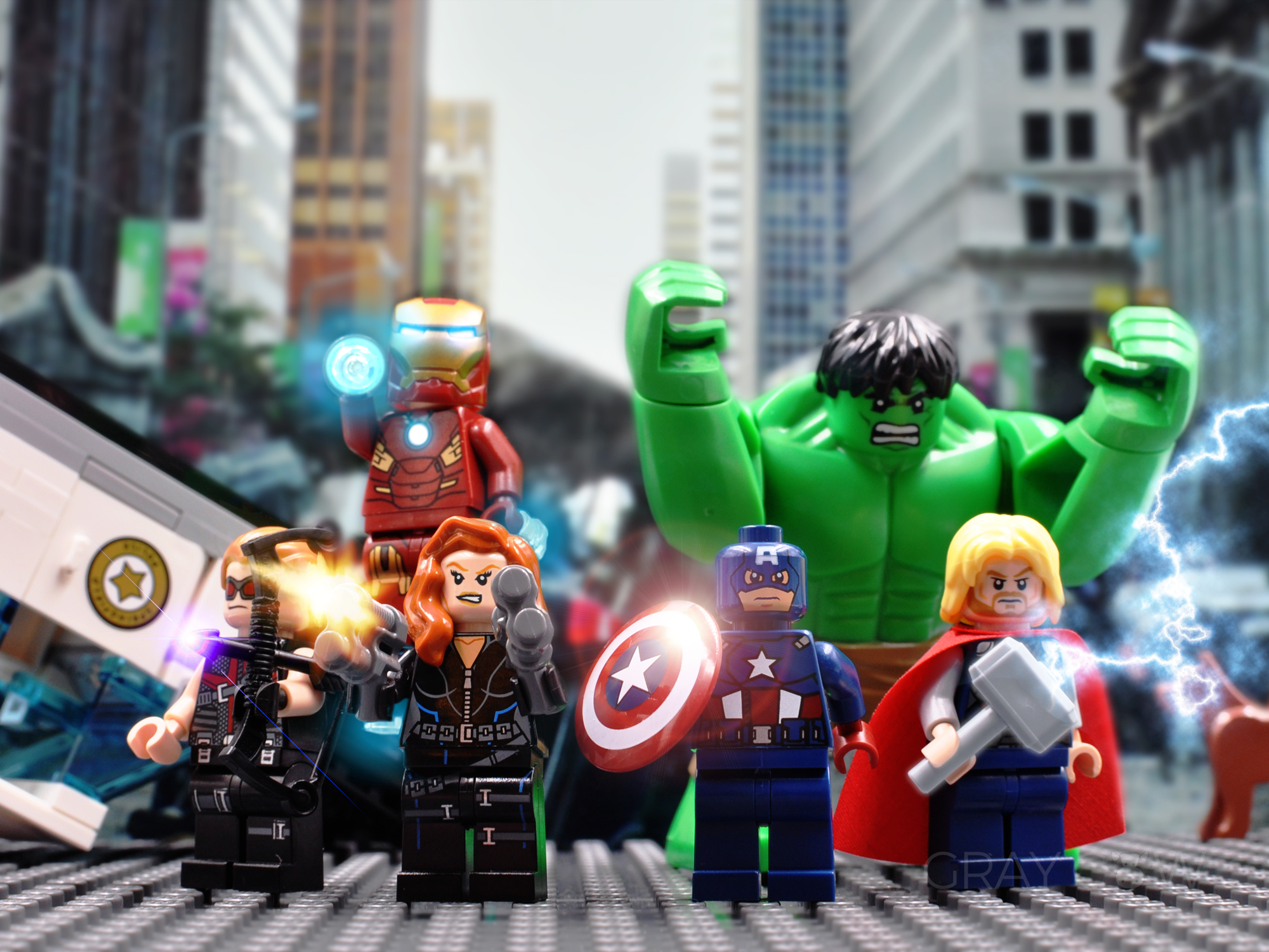 Lego Marvel Superheroes: 2012