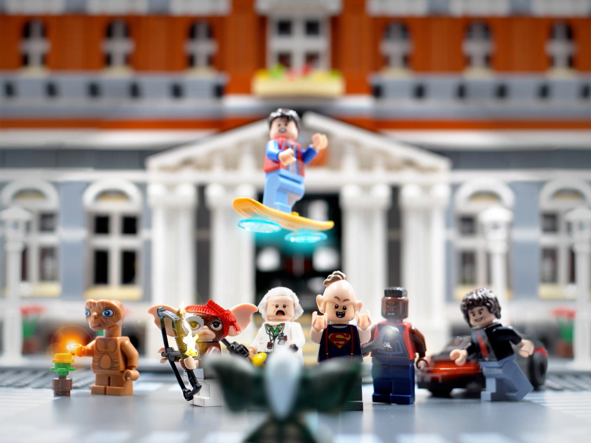 Tribute to the '80s in Lego