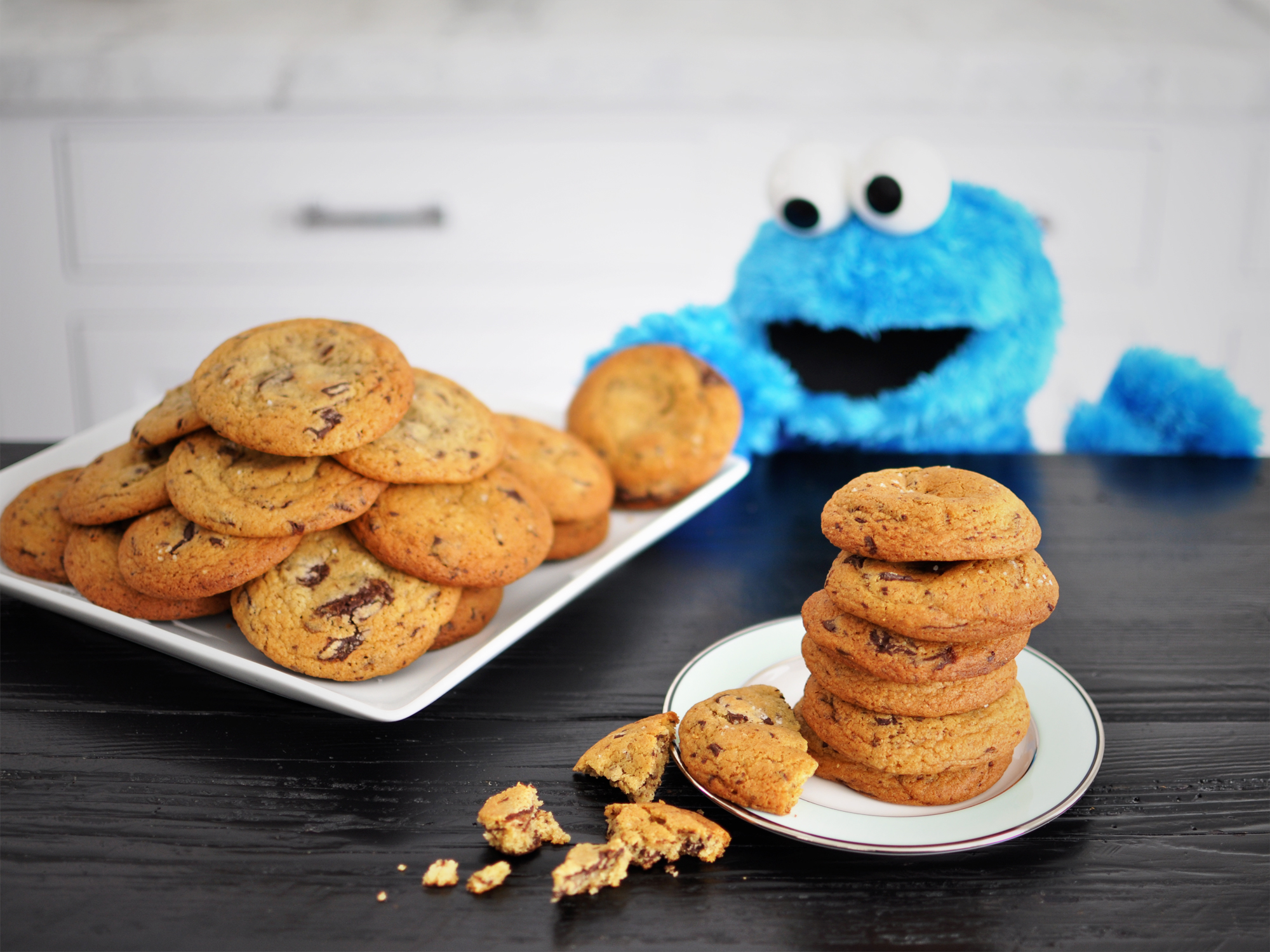 C is for Chocolate Chip Cookies