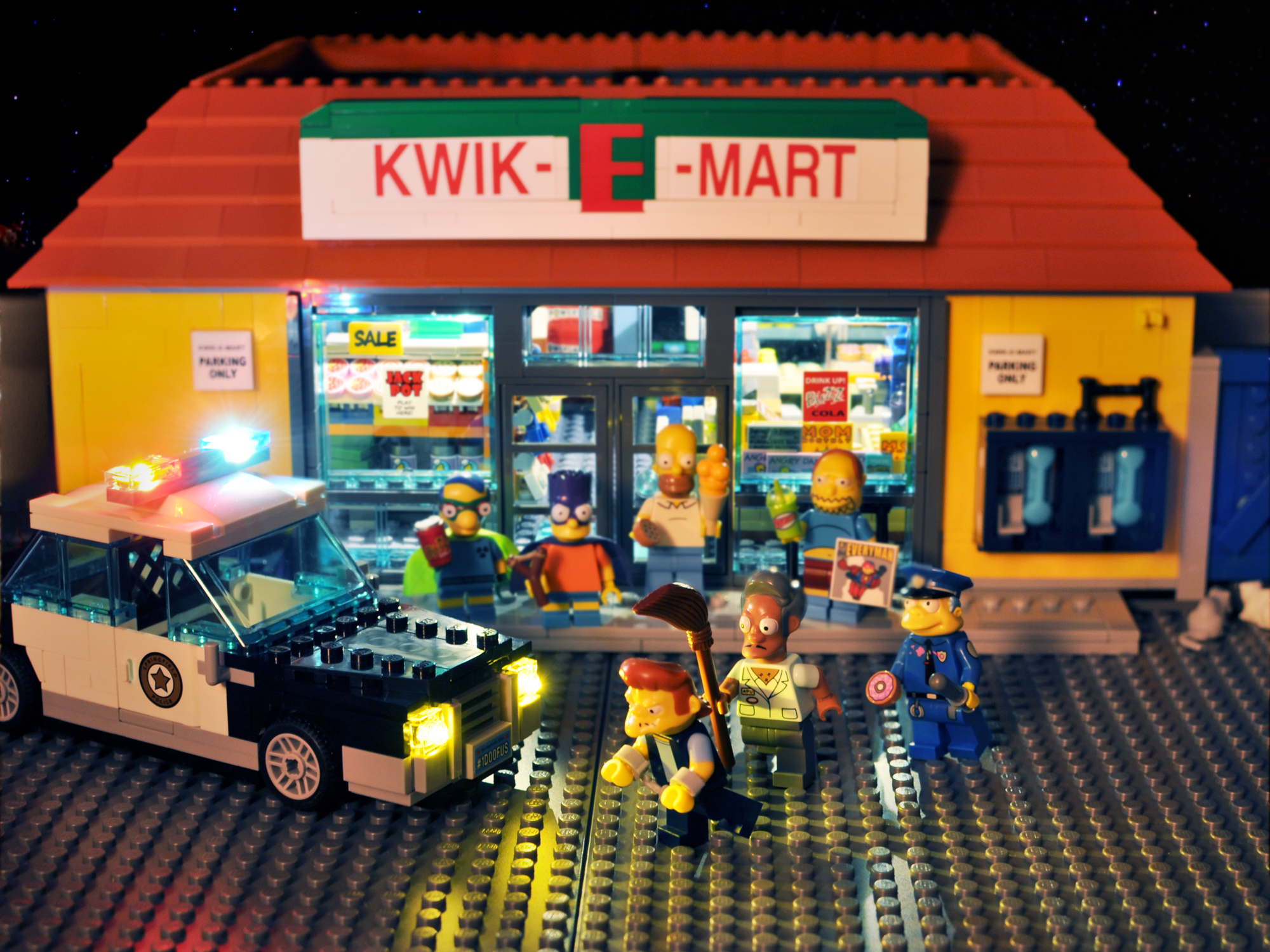 The Simpsons in Lego